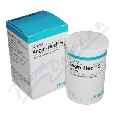 ANGIN-HEEL S neobalené tablety 50
