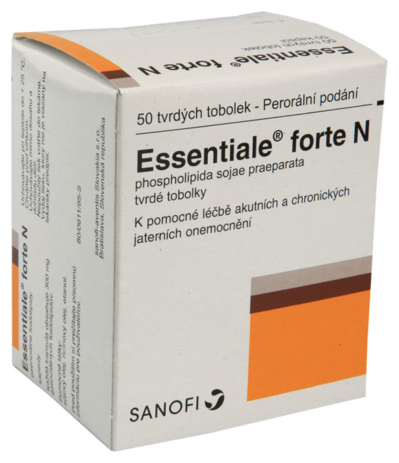 ESSENTIALE FORTE N 300MG tvrdé tobolky 50