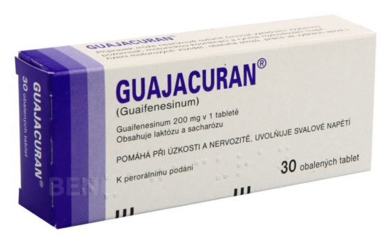 GUAJACURAN 200MG obalené tablety 30