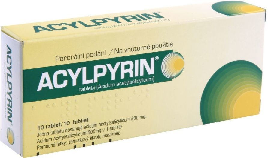Acylpyrin 10 tablet