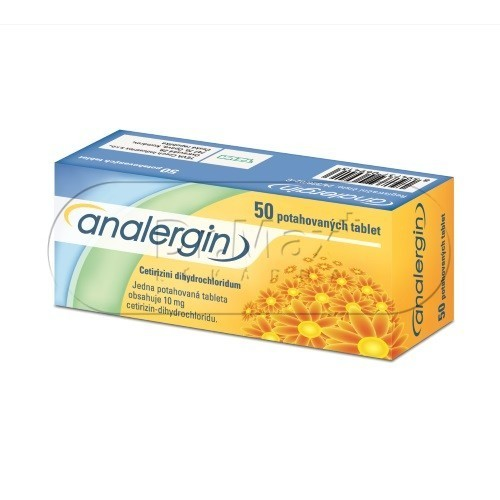 Analergin por.tbl.flm.50x10mg