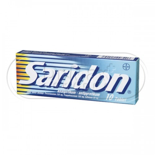 Saridon® 10 tablet