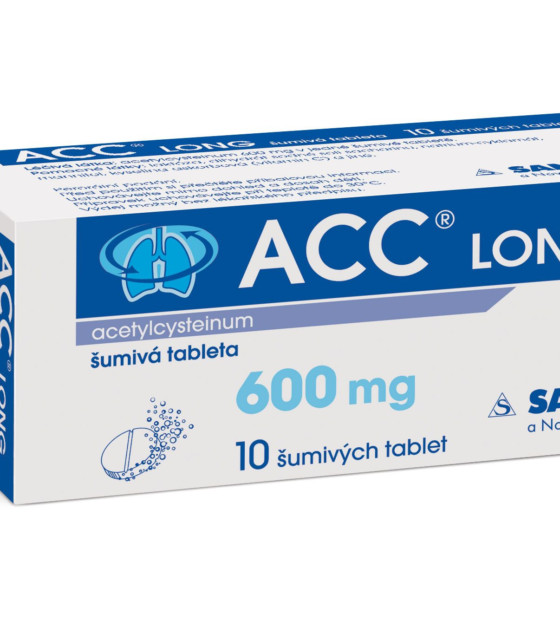 ACC LONG 10 šumivých tablet