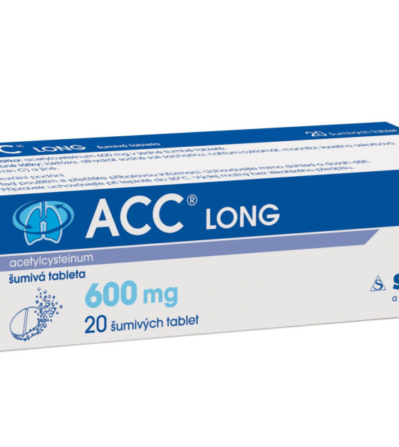 ACC LONG 20 šumivých tablet