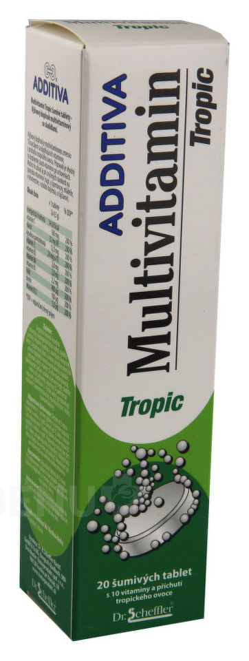 Additiva Multivitamin tbl.eff.20 tropic
