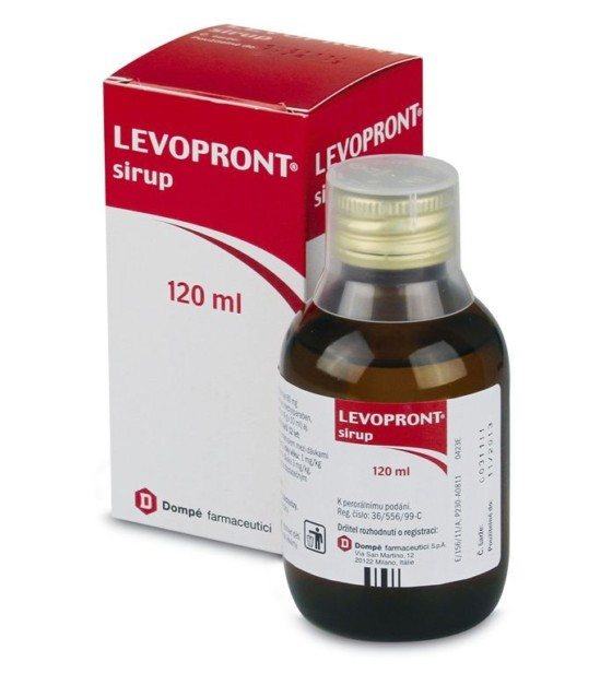 Levopront sirup 6 mg/ml 120ml