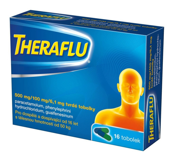 Theraflu 500 mg/100 mg/6