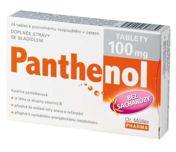Dr.Müller Panthenol tablety 100mg tbl.24
