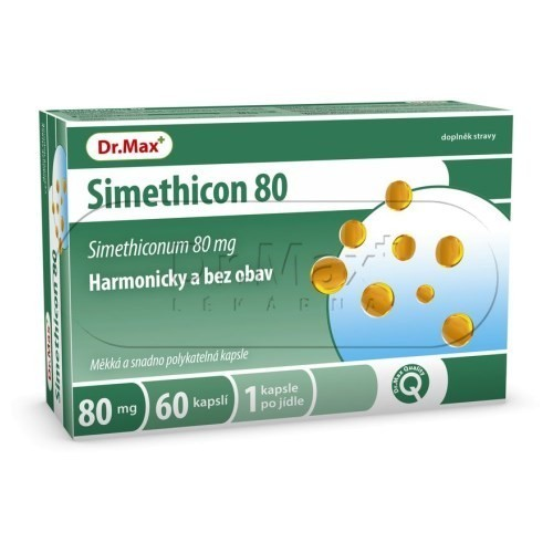 Dr.Max Simethicon 80 cps.60