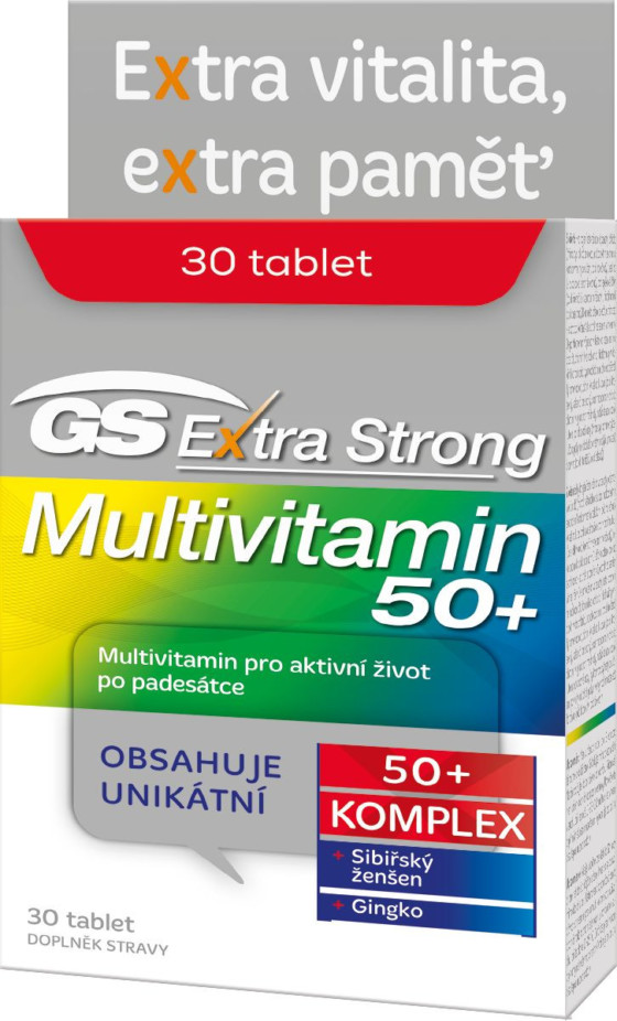 GS Extra Strong Multivitamin 50+ tbl.30