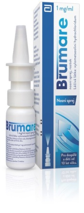 Brumare 1mg/ml nosní sprej nas.spr.sol.1x10ml/10mg