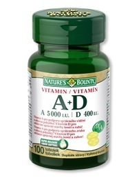 Nature's Bounty Vitamin A+D tob.100x5000/400m.j.