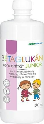 Edenpharma Betaglukán junior koncentrát 250ml