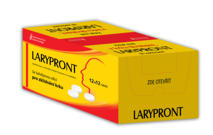 Larypront 12x12 tablet