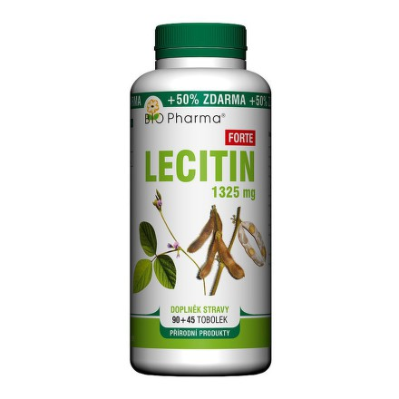 Lecitin Forte 1325mg tob.90+45 BIO-Pharma