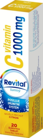 Revital C vitamin 1000mg Citron eff.tbl.20