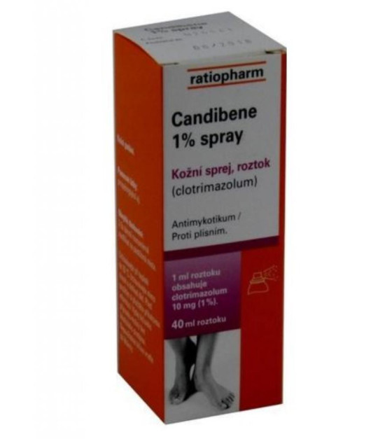 CANDIBENE 1% SPRAY SPR 1X40ML 10MG/ML