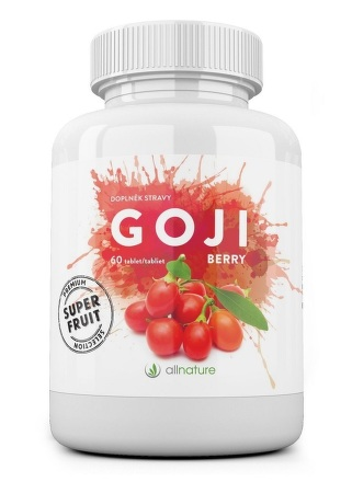 Goji berry tablety Allnature 60 tbl.