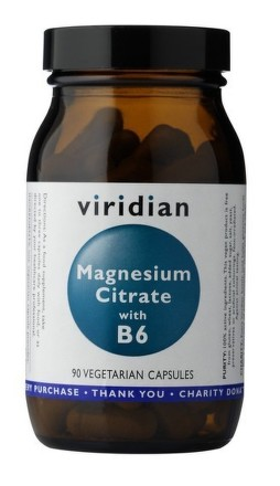 Magnesium Citrate with Vitamin B6 90 kapslí