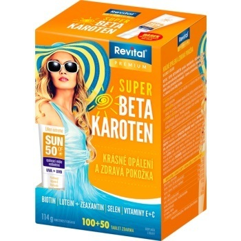 Revital Super Beta-karoten tbl.100+50 +opal.mléko
