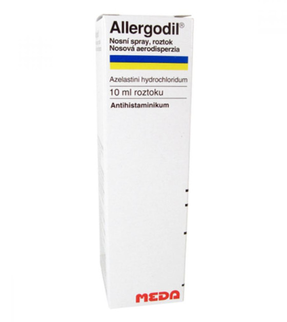 ALLERGODIL  1X10ML Roztok ve spreji