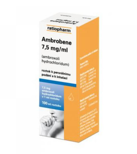 AMBROBENE 7.5 MG/ML  1X100ML Roztok