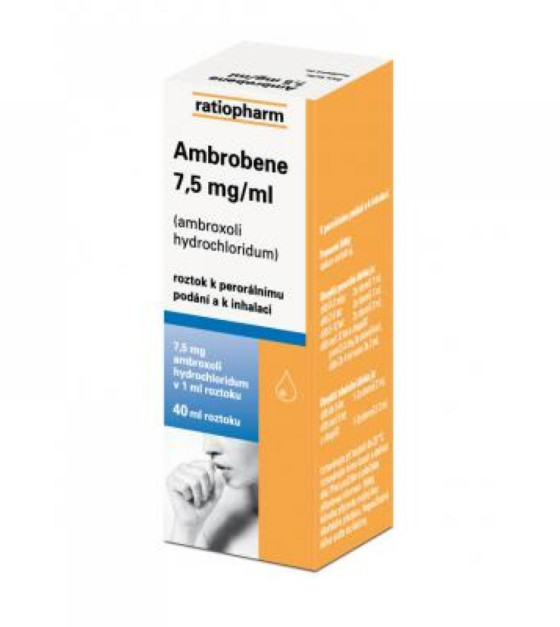 AMBROBENE 7.5 MG/ML  1X40ML Roztok