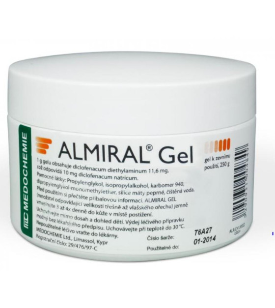 ALMIRAL GEL  1X250GM Gel