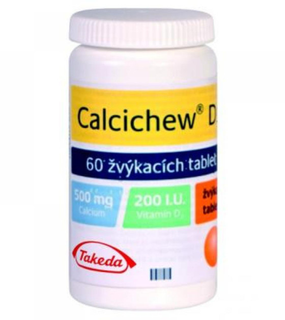CALCICHEW D3 200 IU 60 tablet