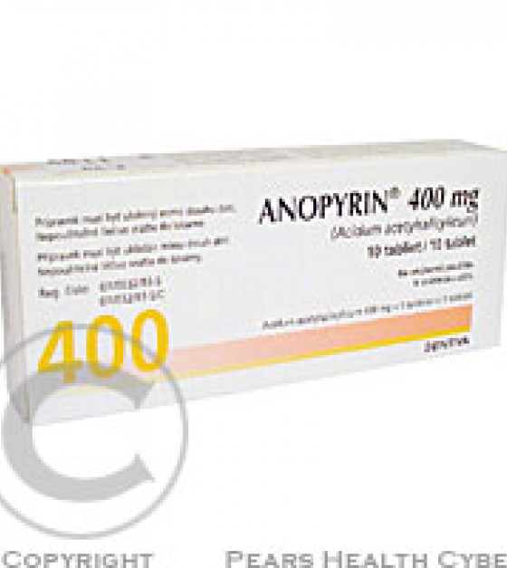 ANOPYRIN 400 MG  10X400MG Tablety