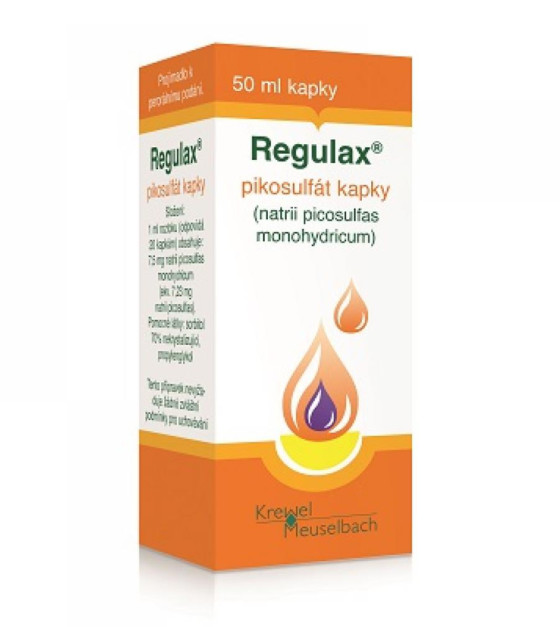 REGULAX Pikosulfát kapky 375 mg 50 ml