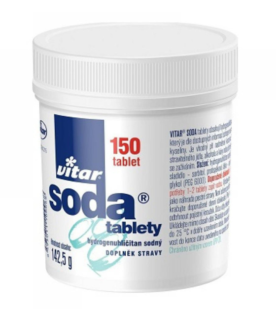 VITAR Soda 150 tablet