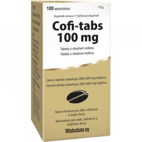 Coffi tabs 100 tablet