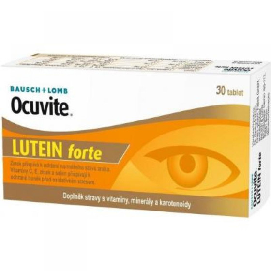 OCUVITE Lutein forte 30 tablet