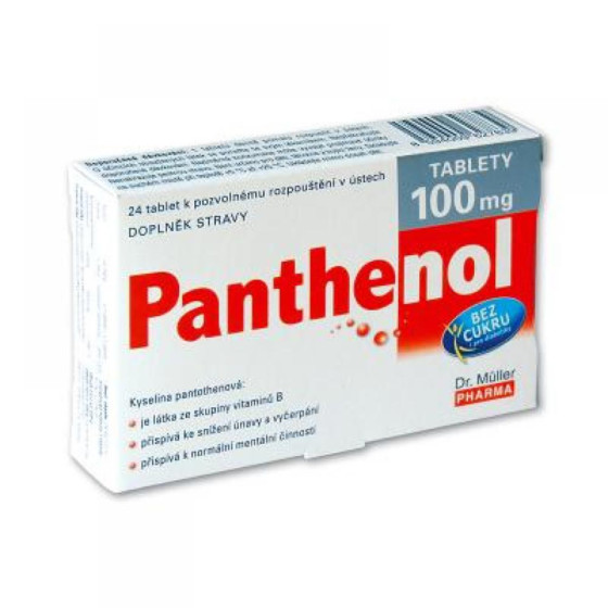 DR. MÜLLER Panthenol tablety 100 mg 24 tablet