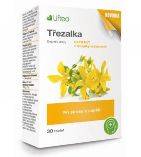 LIFTEA Třezalka 30 tablet