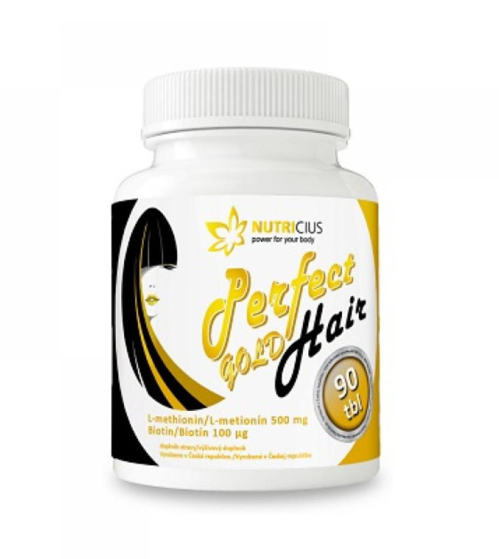 NUTRICIUS Perfect HAIR Gold 90 tablet