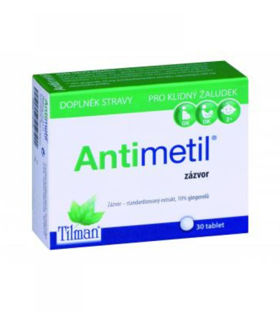 TILMAN Antimetil 30 tablet