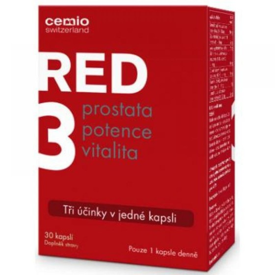 CEMIO RED3 30 tablet