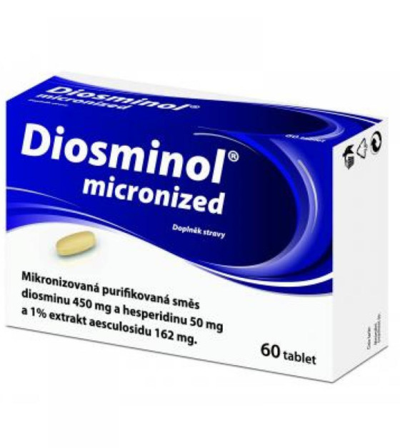 Diosminol micronized - 60 tablet
