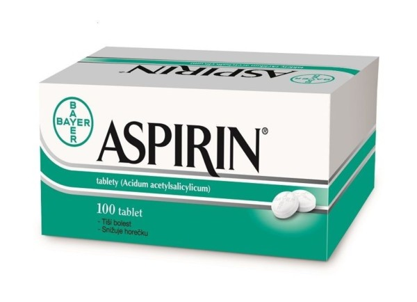 Aspirin 500mg 100 tablet