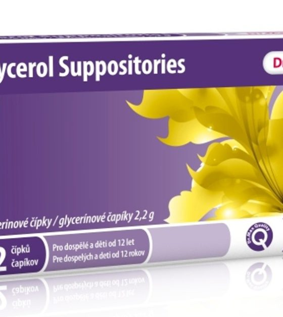 Dr.Max Glycerol Suppositories 2