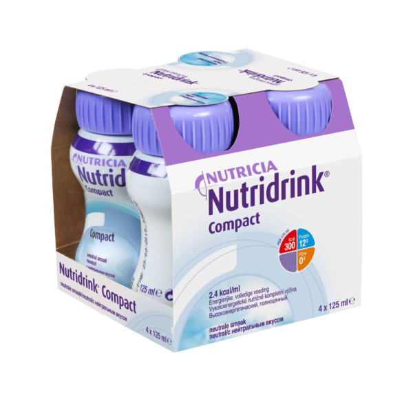 Nutridrink Compact Neutral 4x125ml