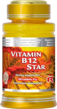 Vitamin B12 Star 60 tbl