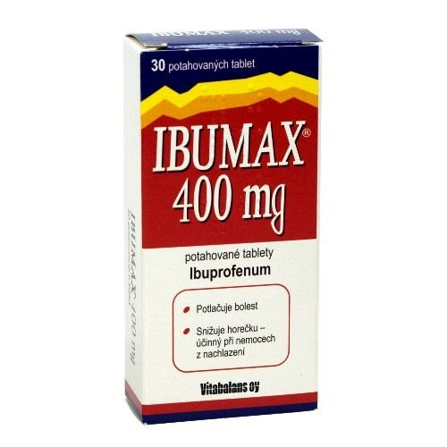 Ibumax 400 mg 30 tablet
