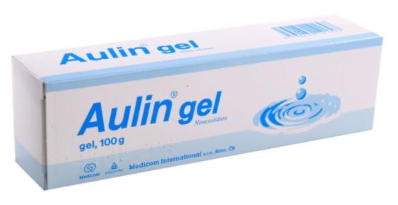 AULIN 30MG/G gely 100