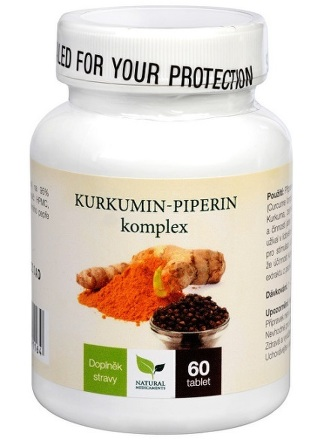 Natural Medicaments Kurkumin-piperin kompl.tbl.60