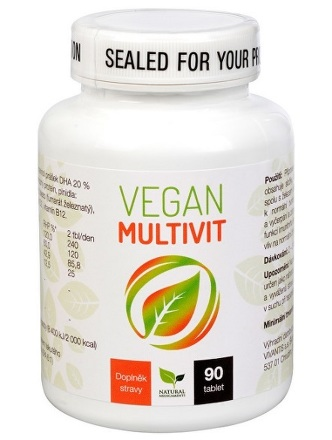 Natural Medicaments Vegan Multivit tbl.90