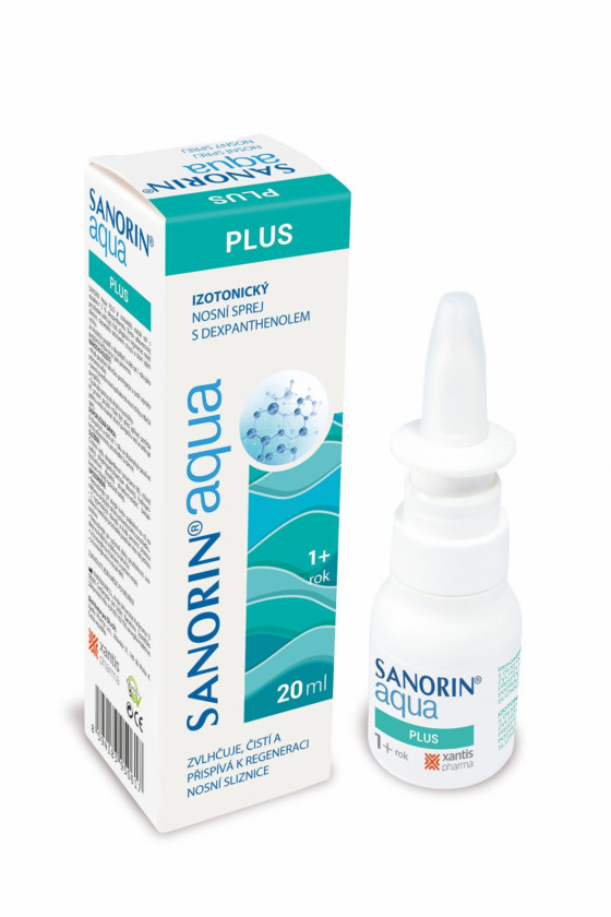 Sanorin Aqua Plus sprej 20 ml