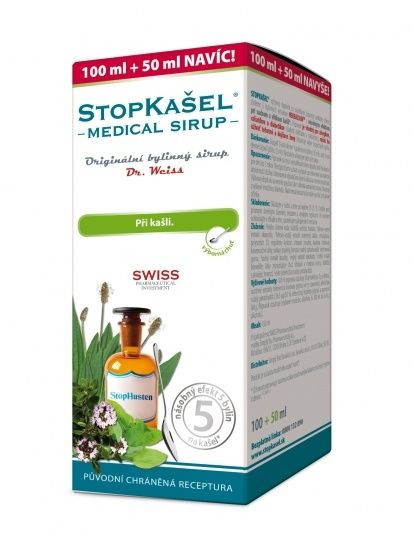 Dr. Weiss STOPKAŠEL Medical sirup 100+50 ml